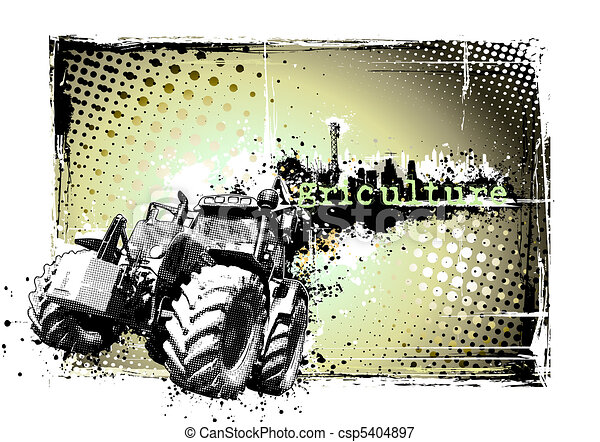 cadre, agriculture - csp5404897