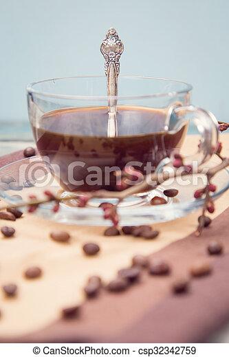 café, branche - csp32342759