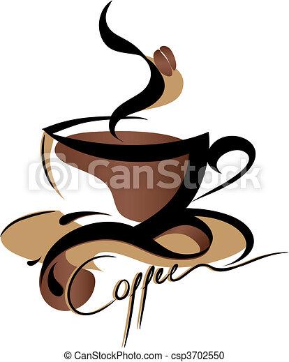 café, signe - csp3702550