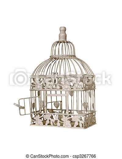 cage d'oiseaux - csp3267766