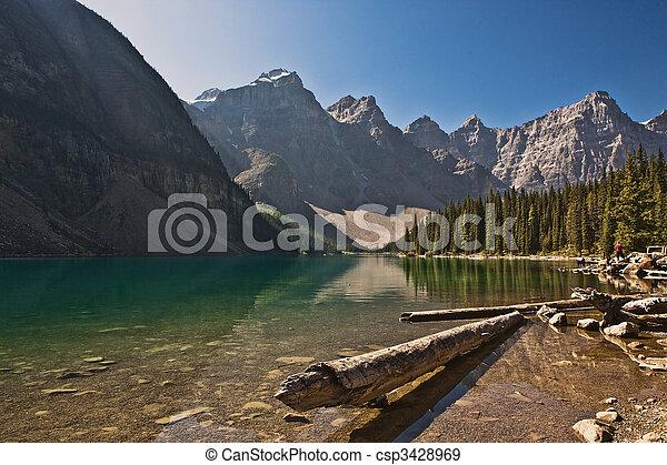 canada, banff, -, parc national, moraine lac, alberta - csp3428969