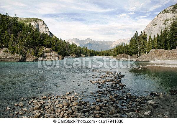 canada, parc, national, banff, alberta - csp17941830