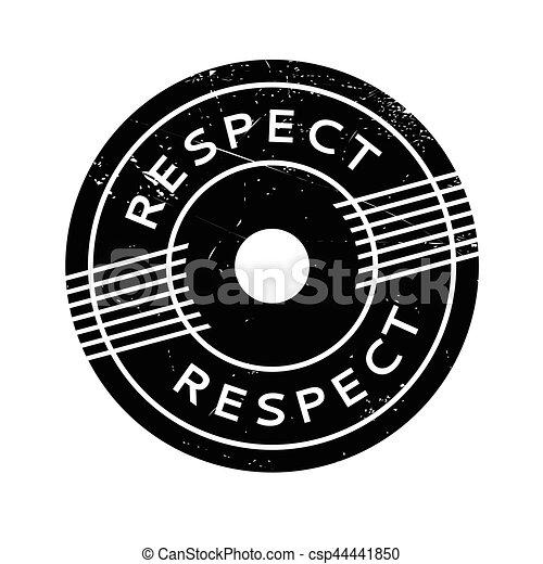 caoutchouc, respect, timbre - csp44441850
