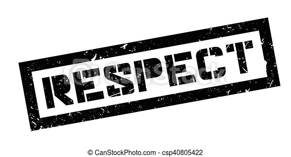 caoutchouc, respect, timbre - csp40805422