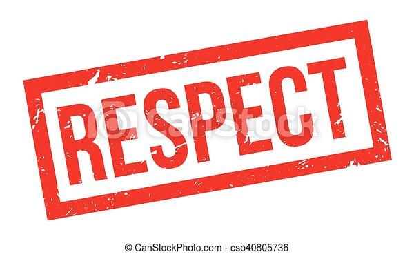 caoutchouc, respect, timbre - csp40805736