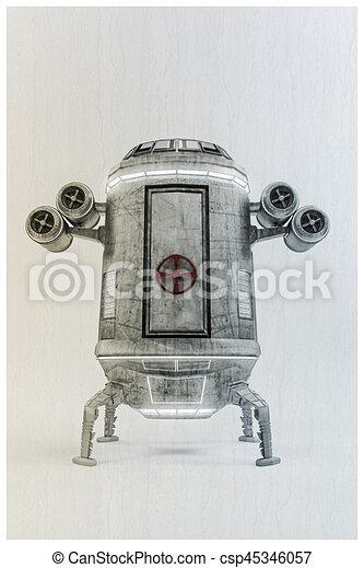 capsule, temps - csp45346057