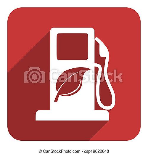 carburant, bio, icône - csp19622648