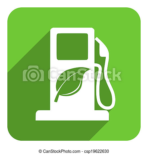 carburant, bio, icône - csp19622630