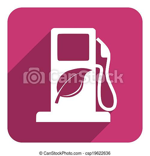 carburant, bio, icône - csp19622636