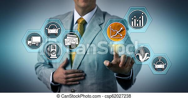 carburant, efficacité, directeur, contrôler, biofuels - csp62027238