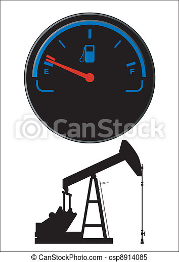 carburant, pétrole, jauge - csp8914085