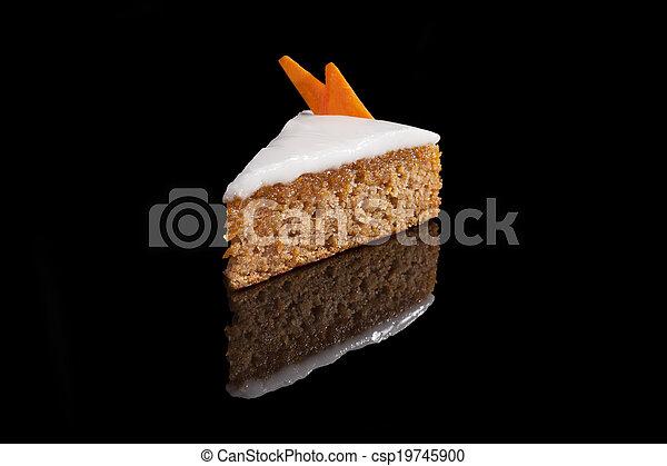 carotte, cake. - csp19745900