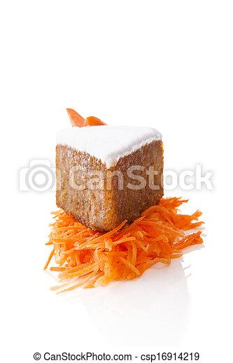 carotte, cake. - csp16914219