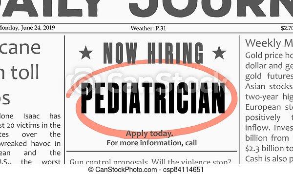 carrière, pédiatre - csp84114651