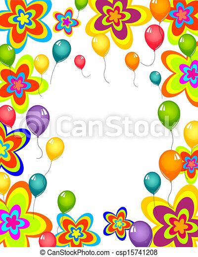 carte, célébration - csp15741208