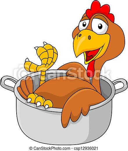 casserole, poulet - csp12936021
