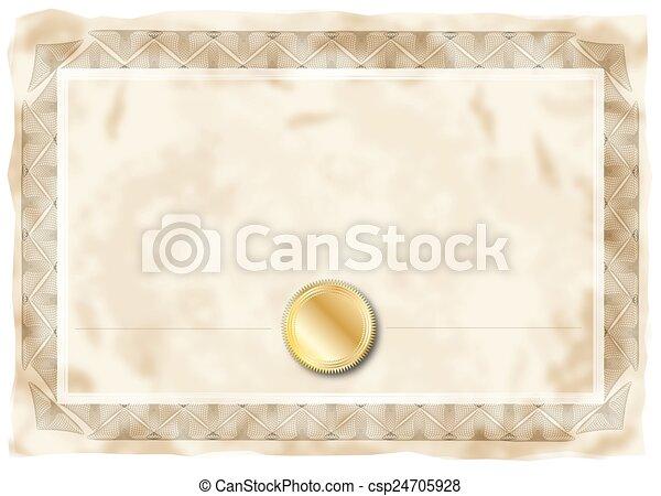 certificat - csp24705928