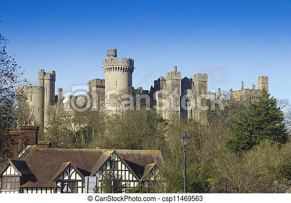 château, anglaise - csp11469563