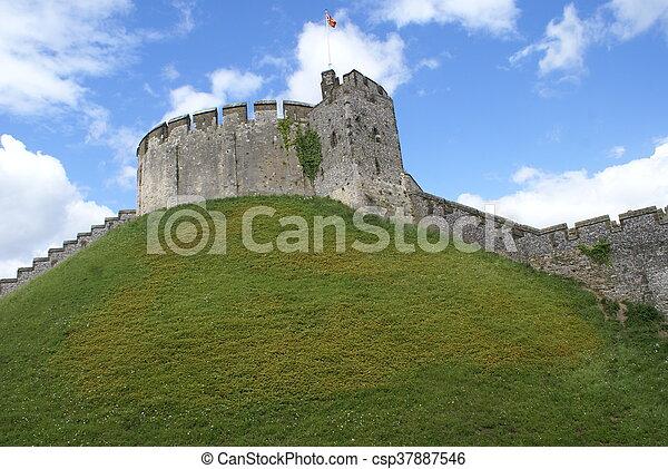 château arundel, angleterre, tour - csp37887546