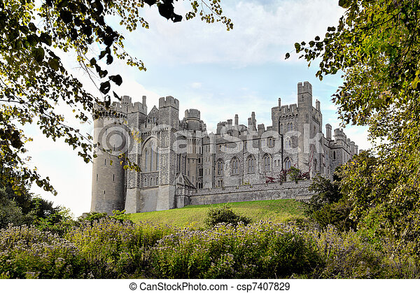 château, arundel - csp7407829