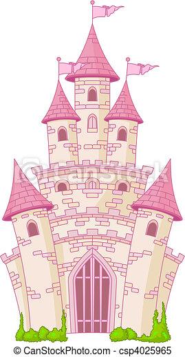 château, magie - csp4025965