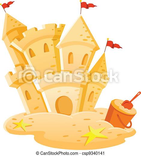 château sable - csp9340141
