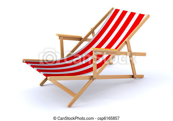 chaise plage 3d chaise moderne plage render 3d