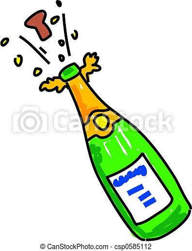 champagne - csp0585112