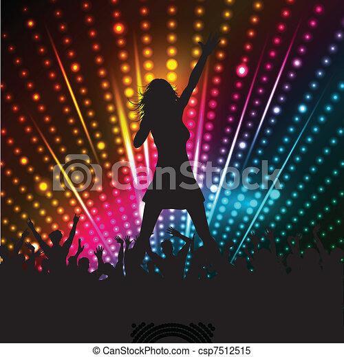 chanteur femelle - csp7512515