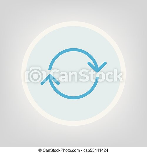 chargement, icône - csp55441424
