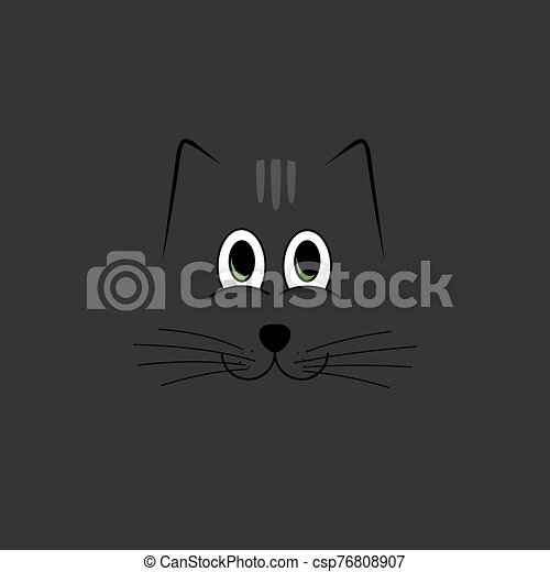 chat, simple, fond - csp76808907