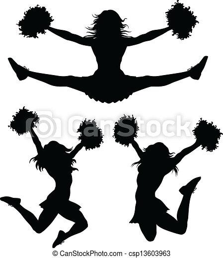 cheerleaders - csp13603963