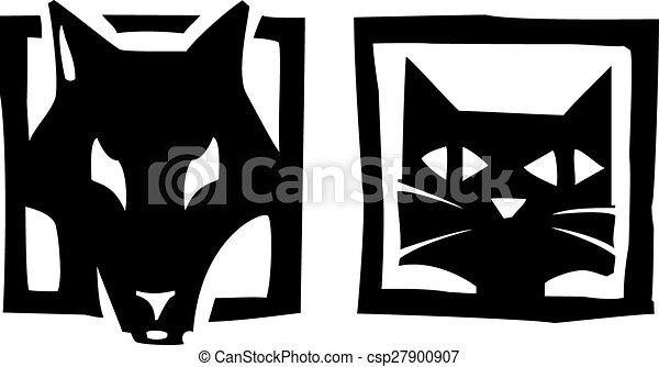 chien, chat - csp27900907