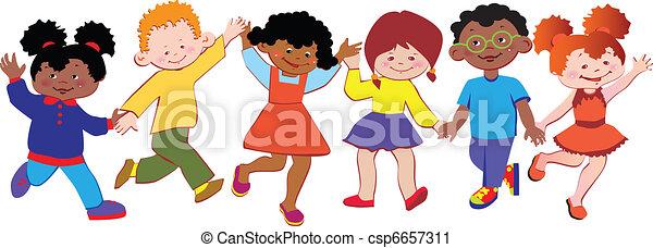 children., heureux - csp6657311