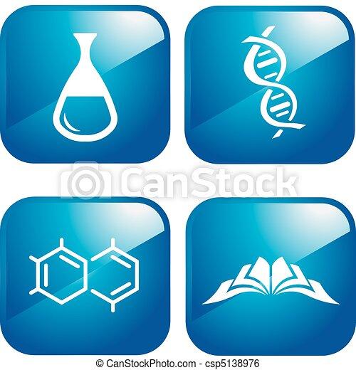 chimique, icônes - csp5138976