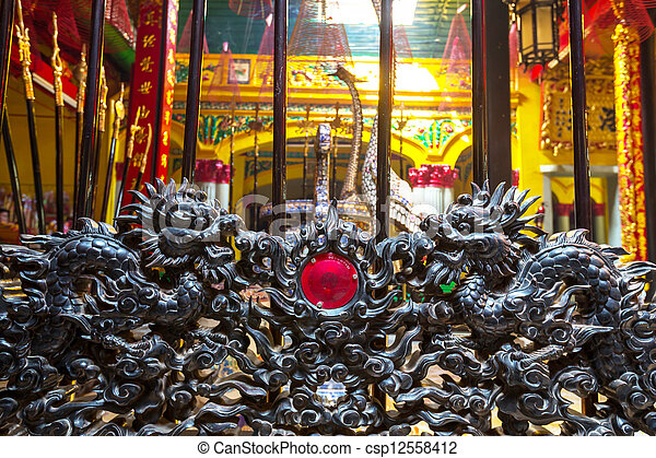 chinois, temple - csp12558412