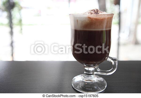 chocolat chaud - csp15197605