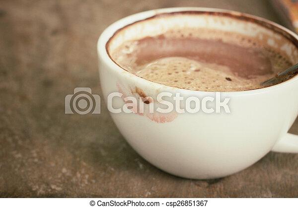 chocolat chaud - csp26851367