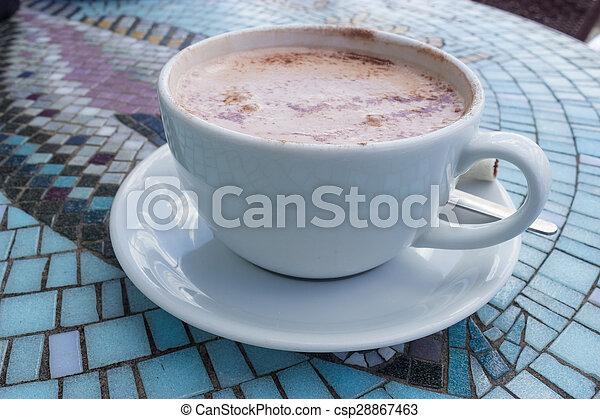 chocolat chaud - csp28867463
