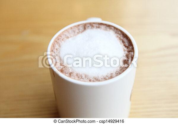 chocolat chaud - csp14929416