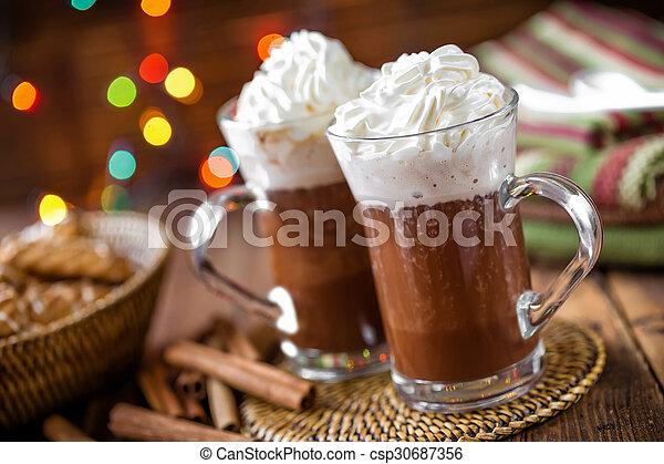 chocolat chaud - csp30687356