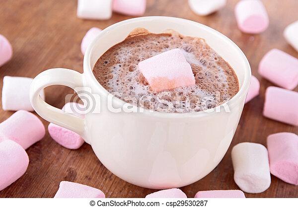 chocolat chaud - csp29530287