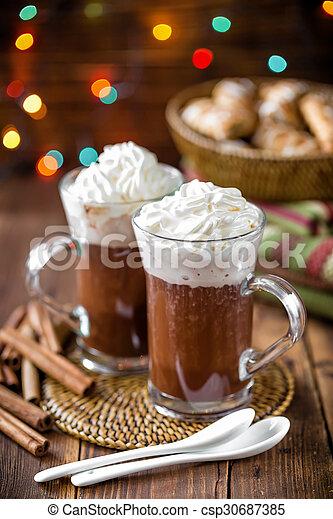 chocolat chaud - csp30687385