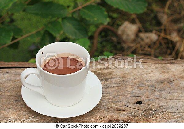 chocolat chaud - csp42639287