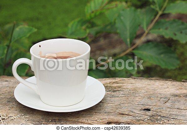 chocolat chaud - csp42639385