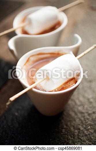 chocolat chaud - csp45869081