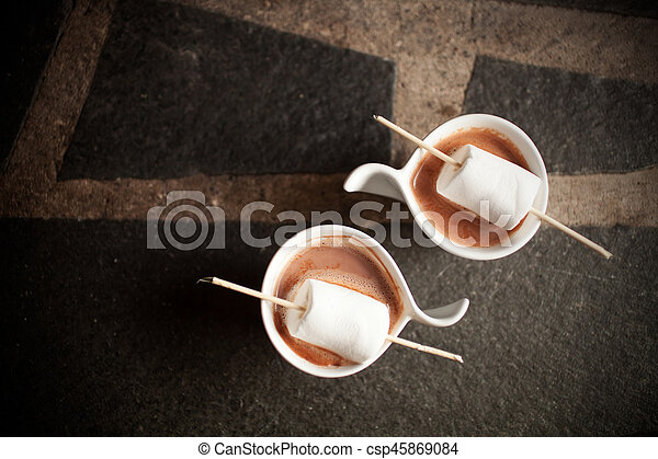 chocolat chaud - csp45869084