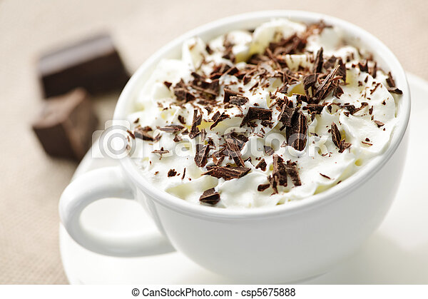 chocolat chaud - csp5675888