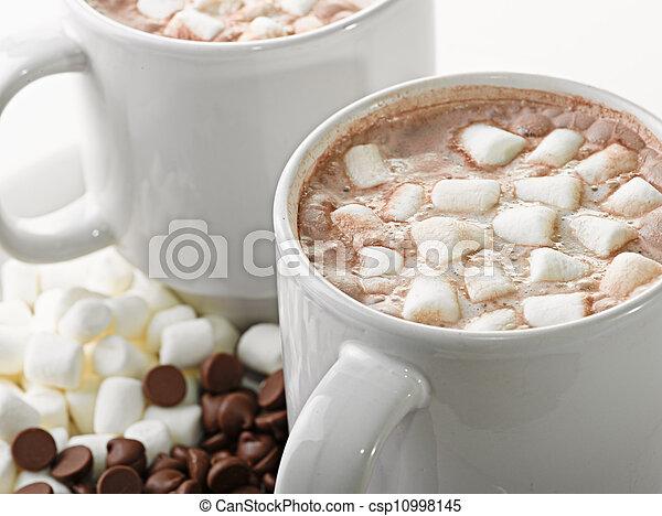 chocolat chaud - csp10998145