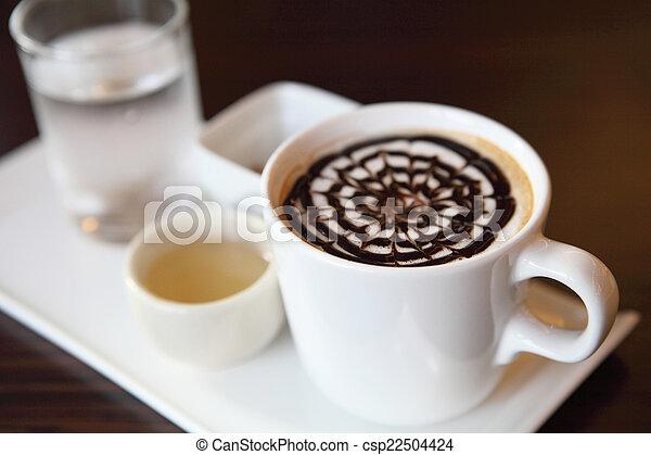 chocolat chaud - csp22504424